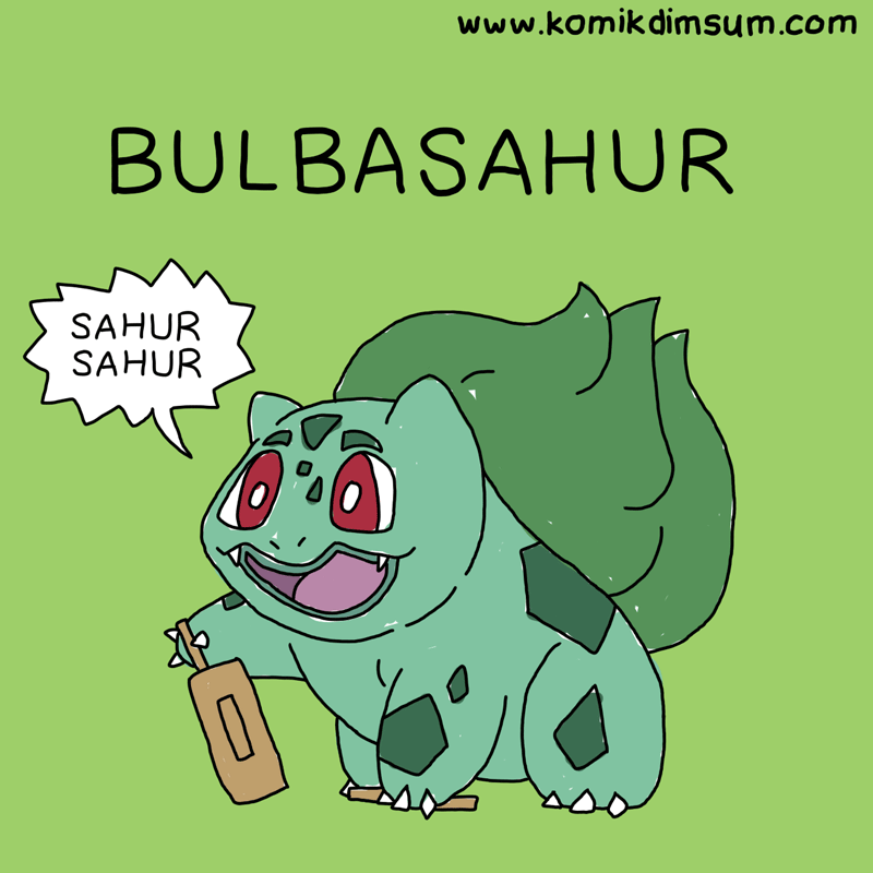 Pokemon Bulbasahur
