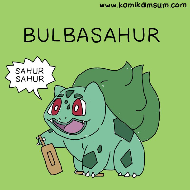 Pokemon Bulbasahur
