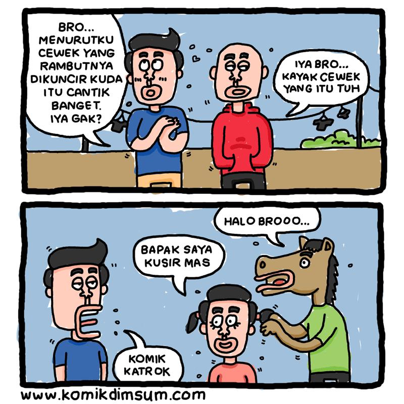 Cewek Kuncir Kuda