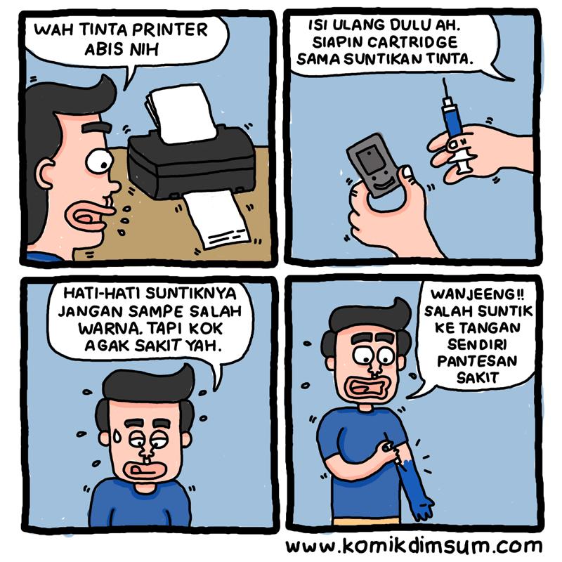 Cara Isi Tinta Printer