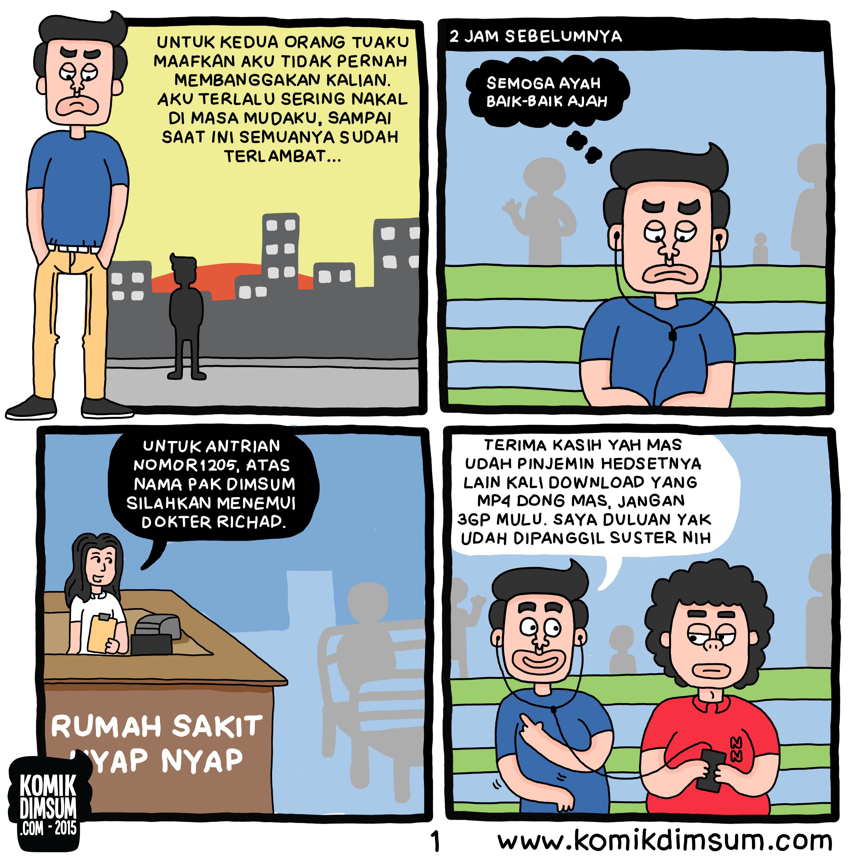 Komik Dimsum Spesial Superhero Veerman