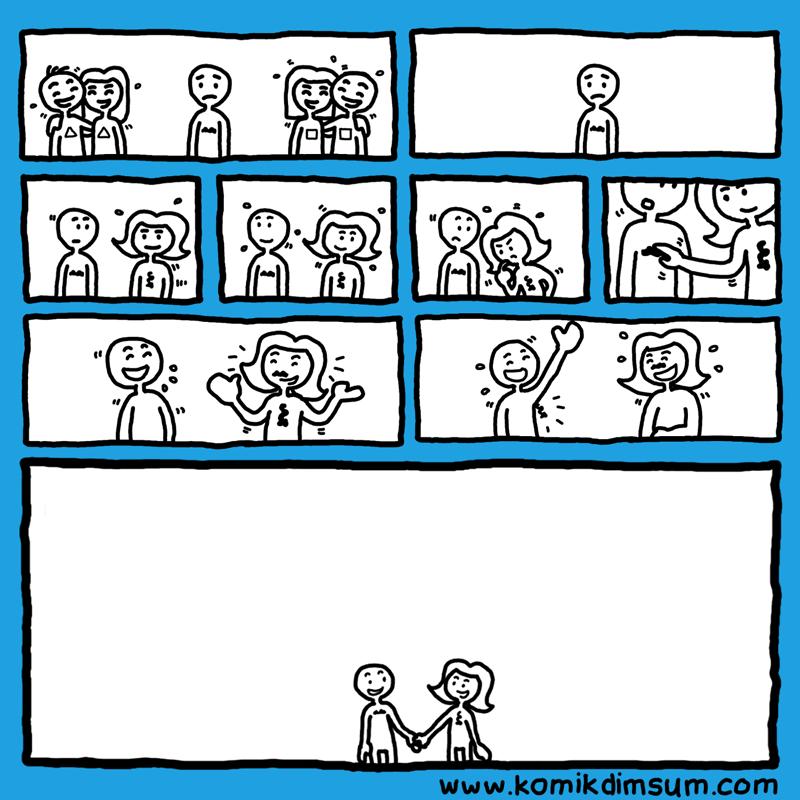 Love (Silent Comic)