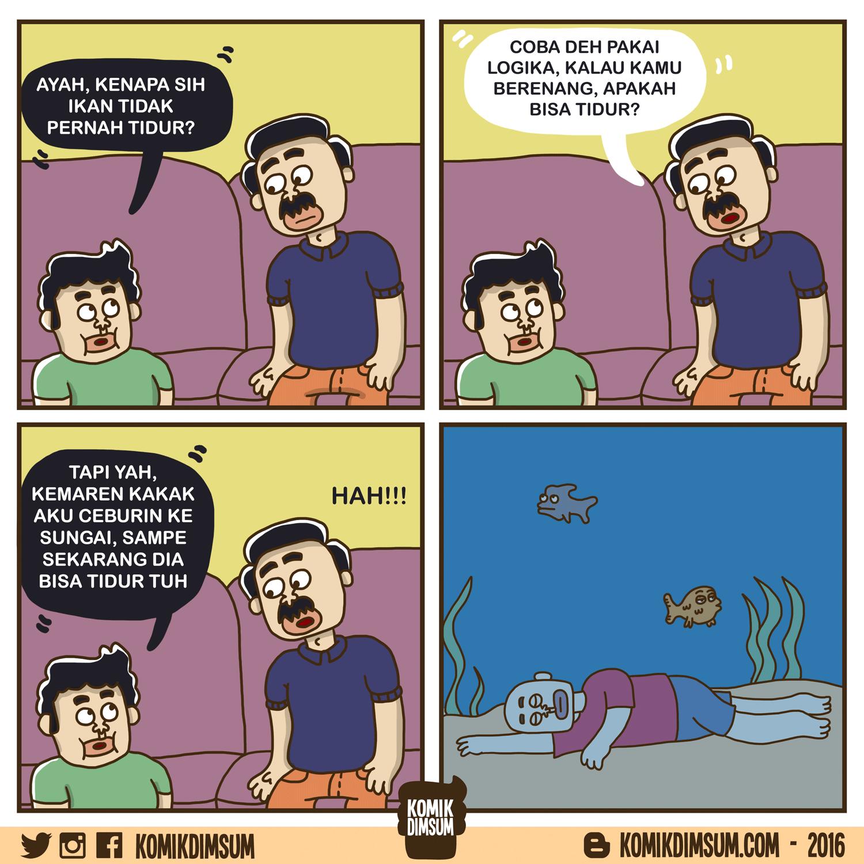 Ikan Tidak Pernah Tidur