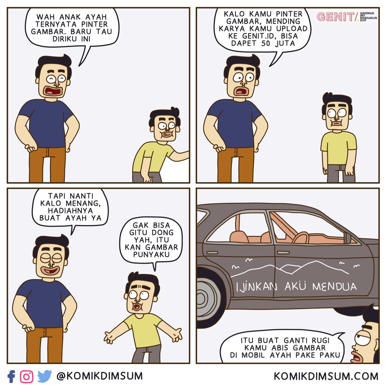 Anak Berbakat Menggambar