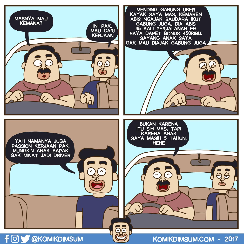 Anak Supir Uber