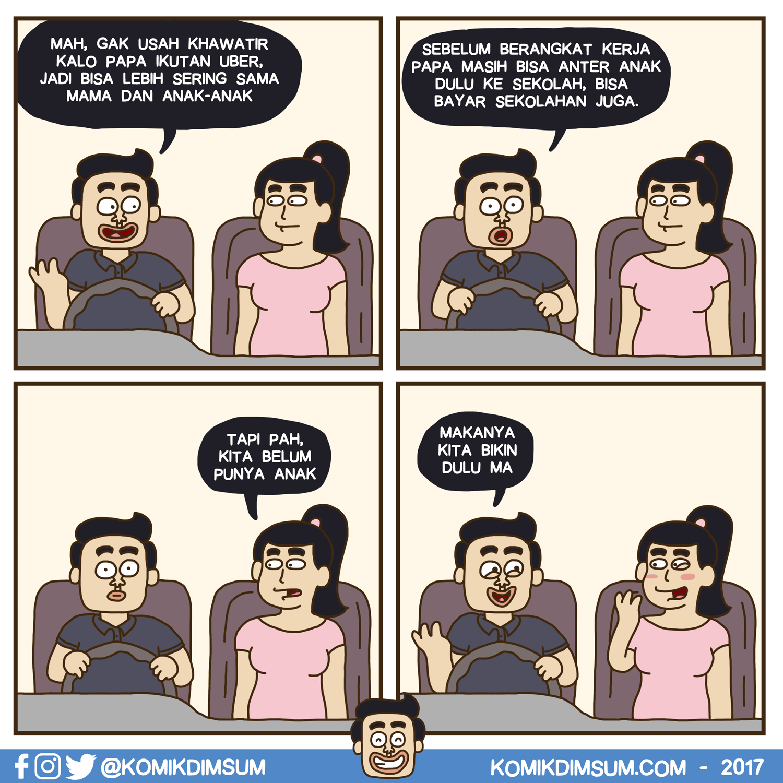 Anterin Keluarga Pakai Uber
