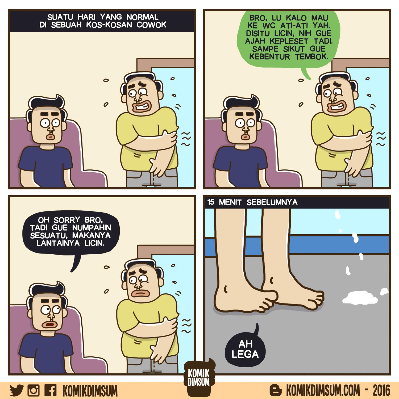 Bahaya Di Kamar Mandi