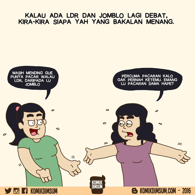 Debat LDR dan Jomblo