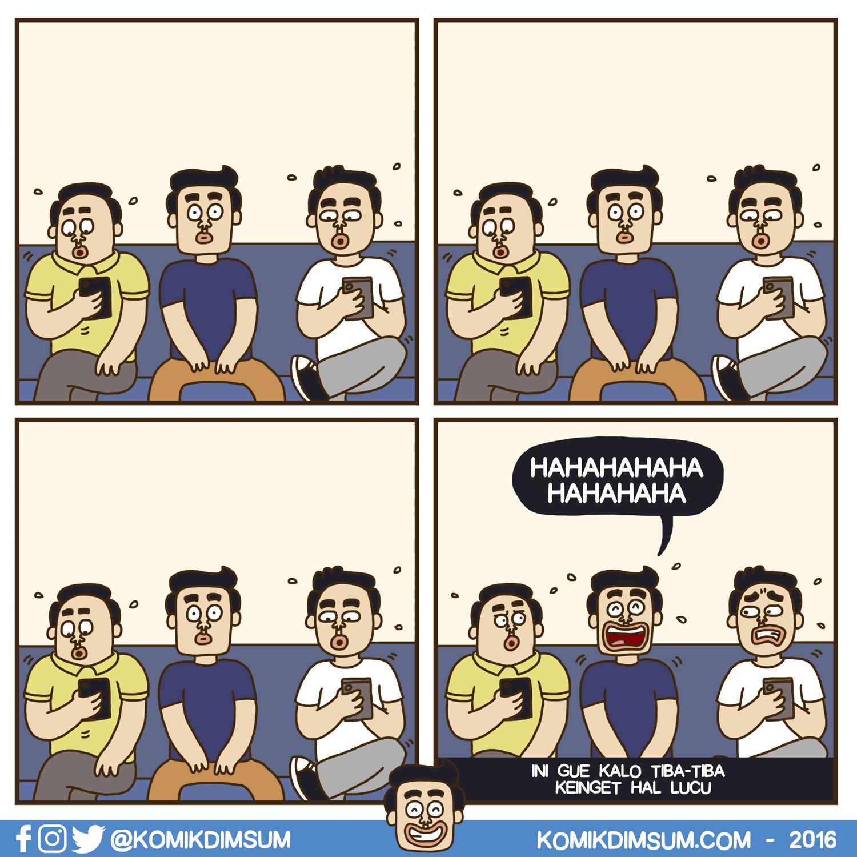 Ketawa Sendiri