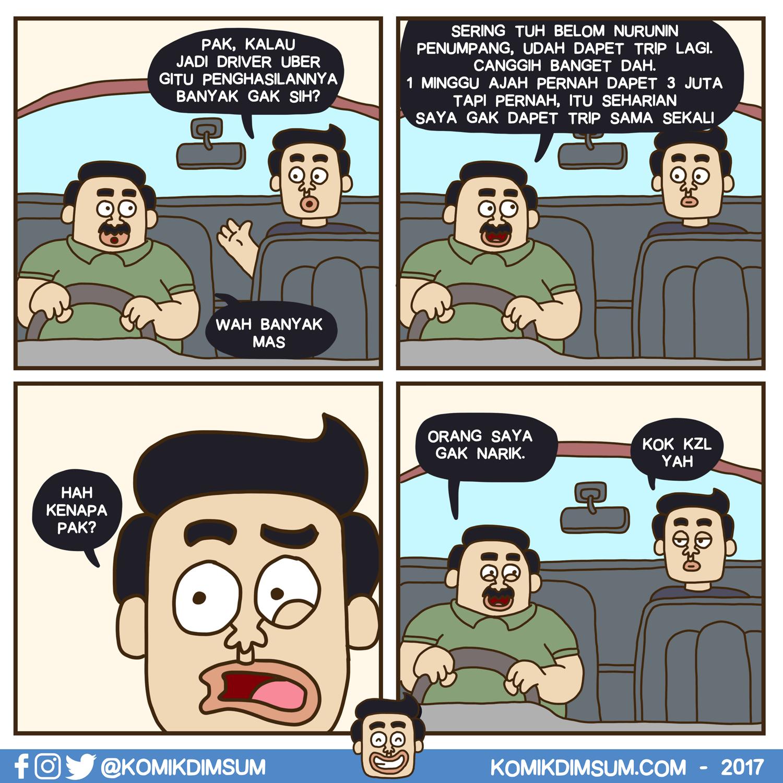 Penghasilan Supir Uber