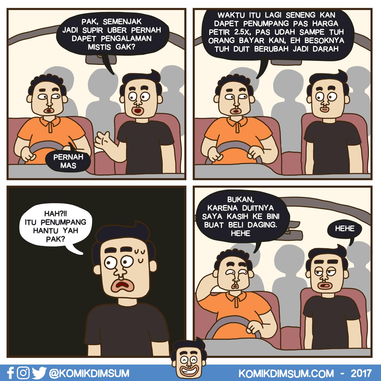 Penumpang Hantu Uber
