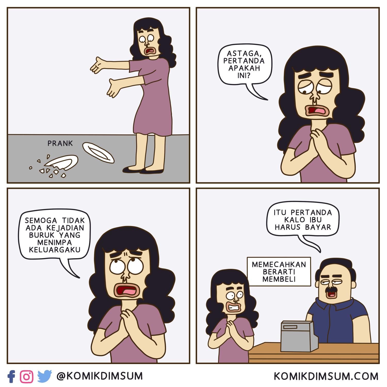 Piring Pecah