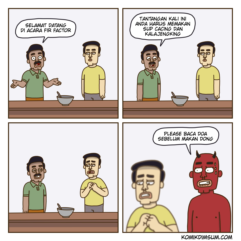 Tantangan Makan
