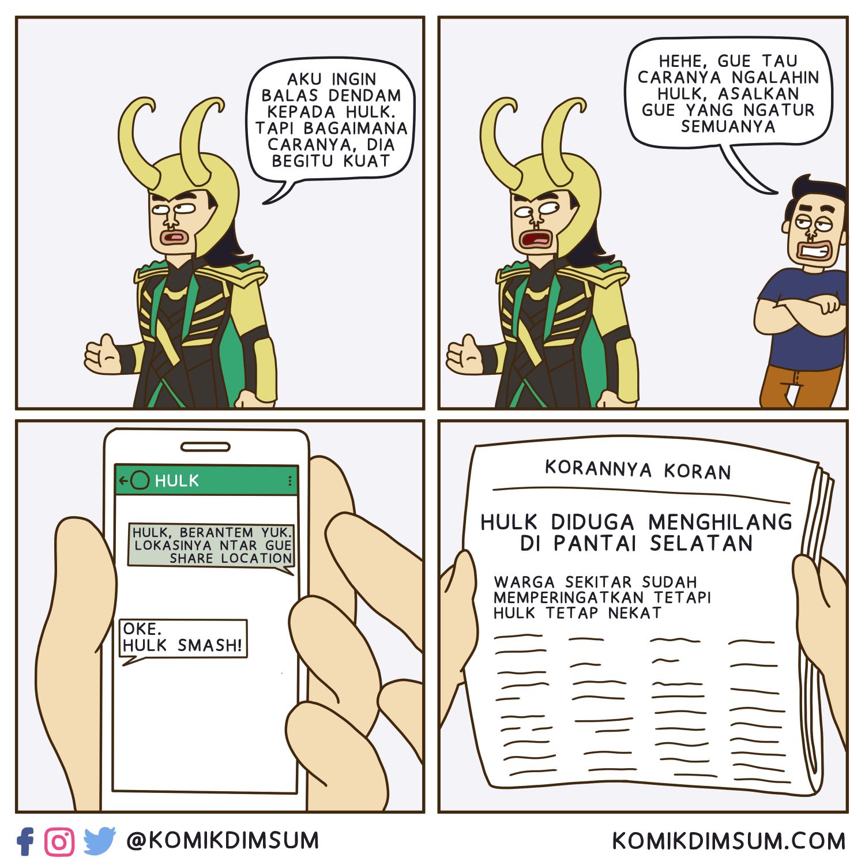 Tips Lawan Hulk