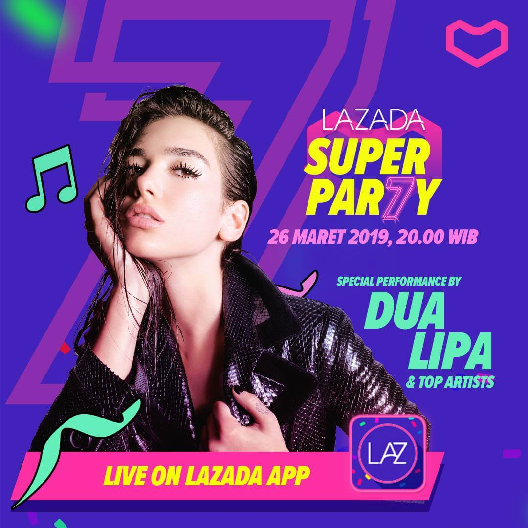 Lazada Super Party