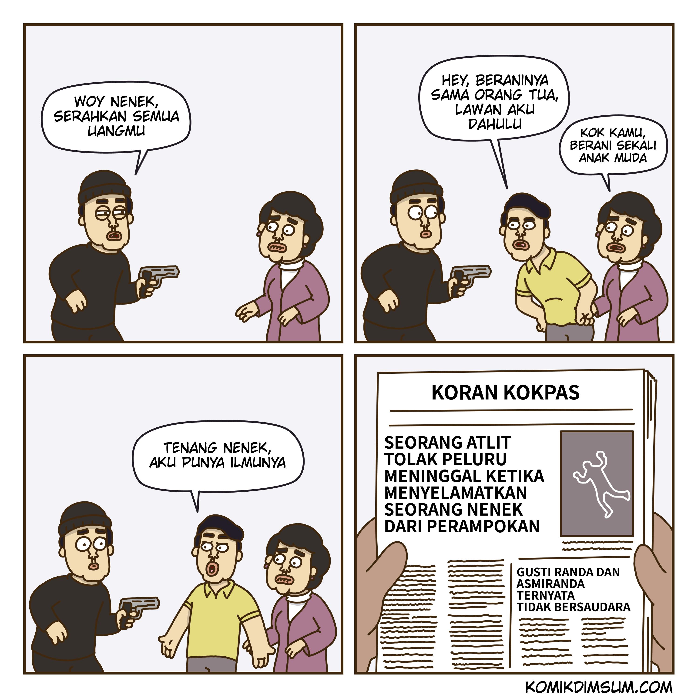 Melawan Perampok