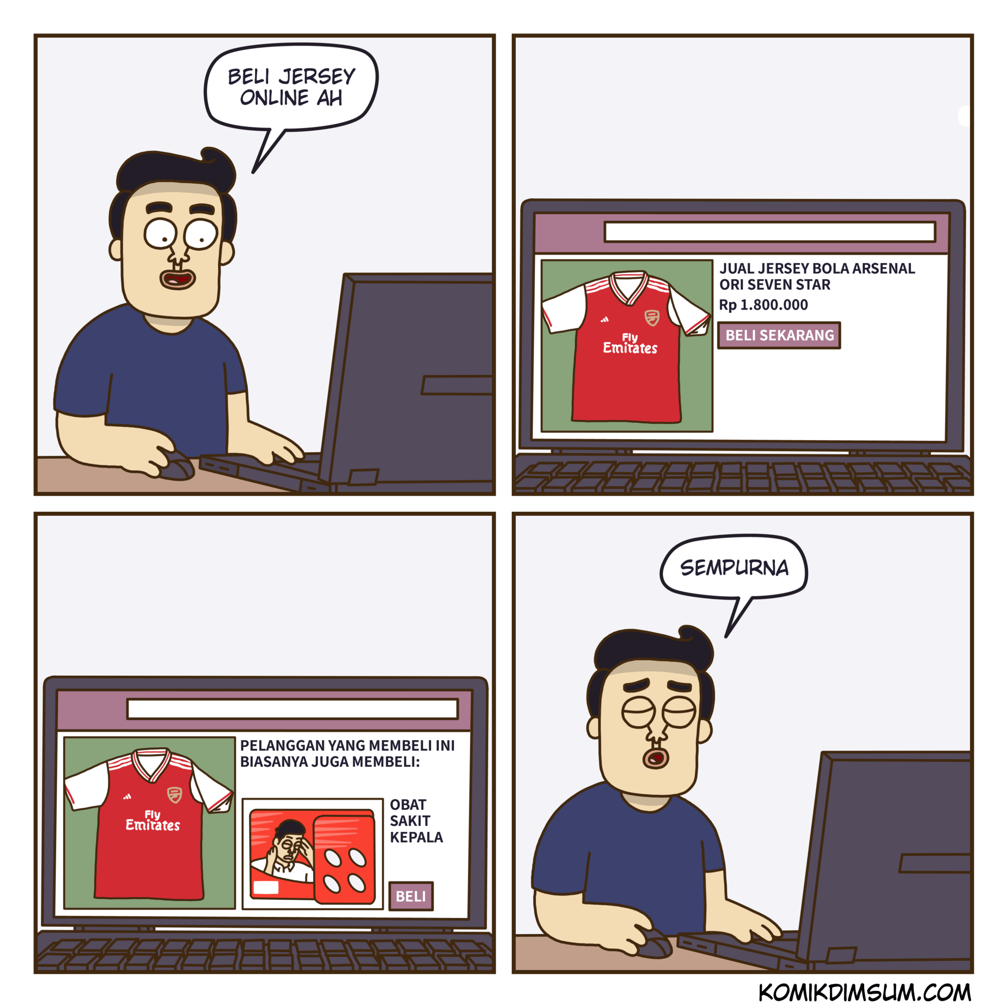 Beli Jersey Online