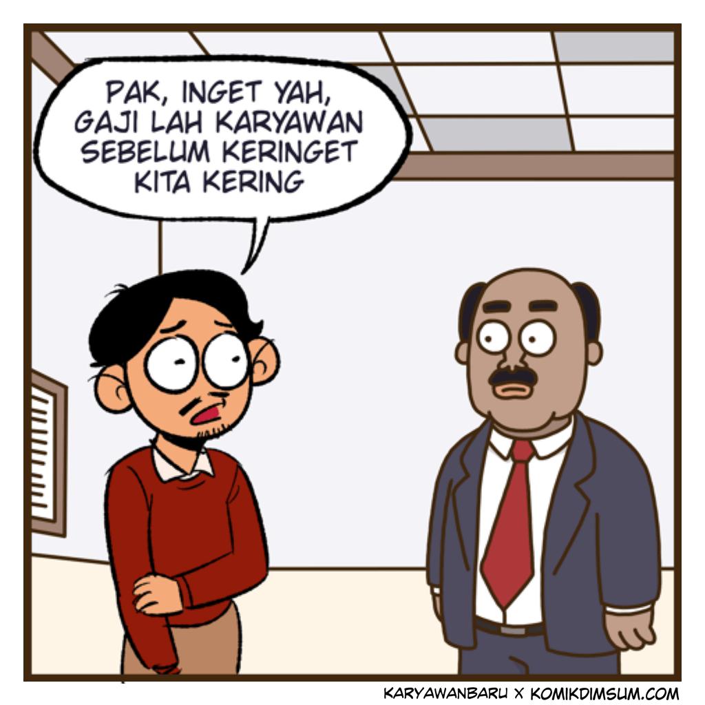Gaji Telat feat Karyawan Baru