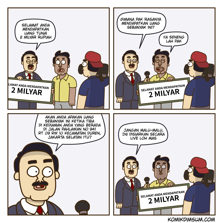Hadiah 2 Milyar