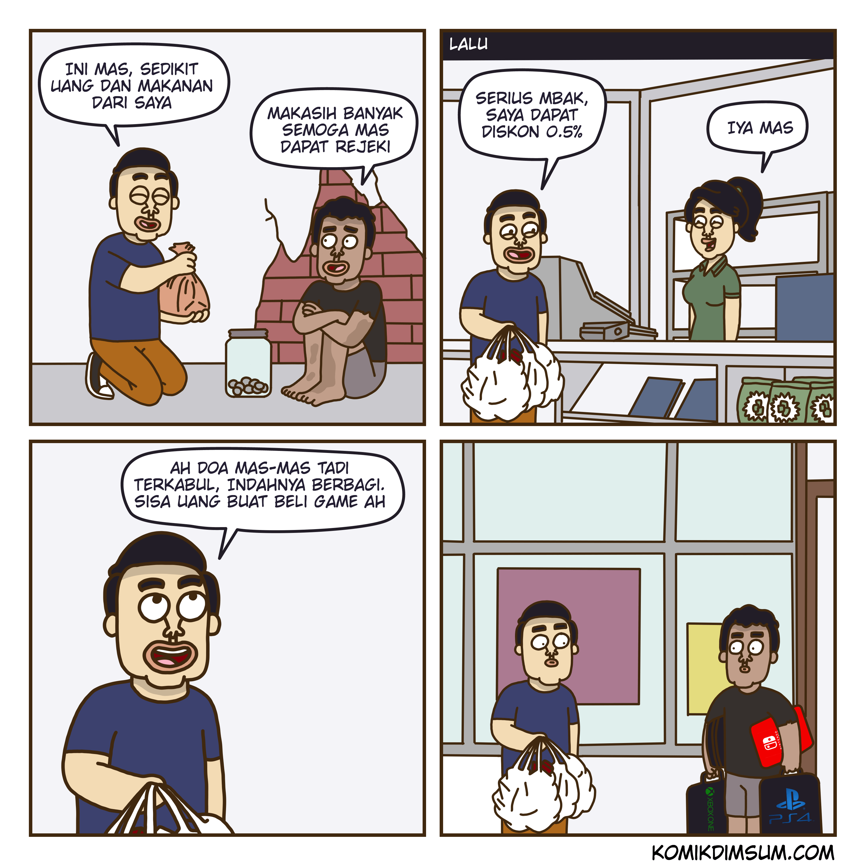 Rejeki Pengemis