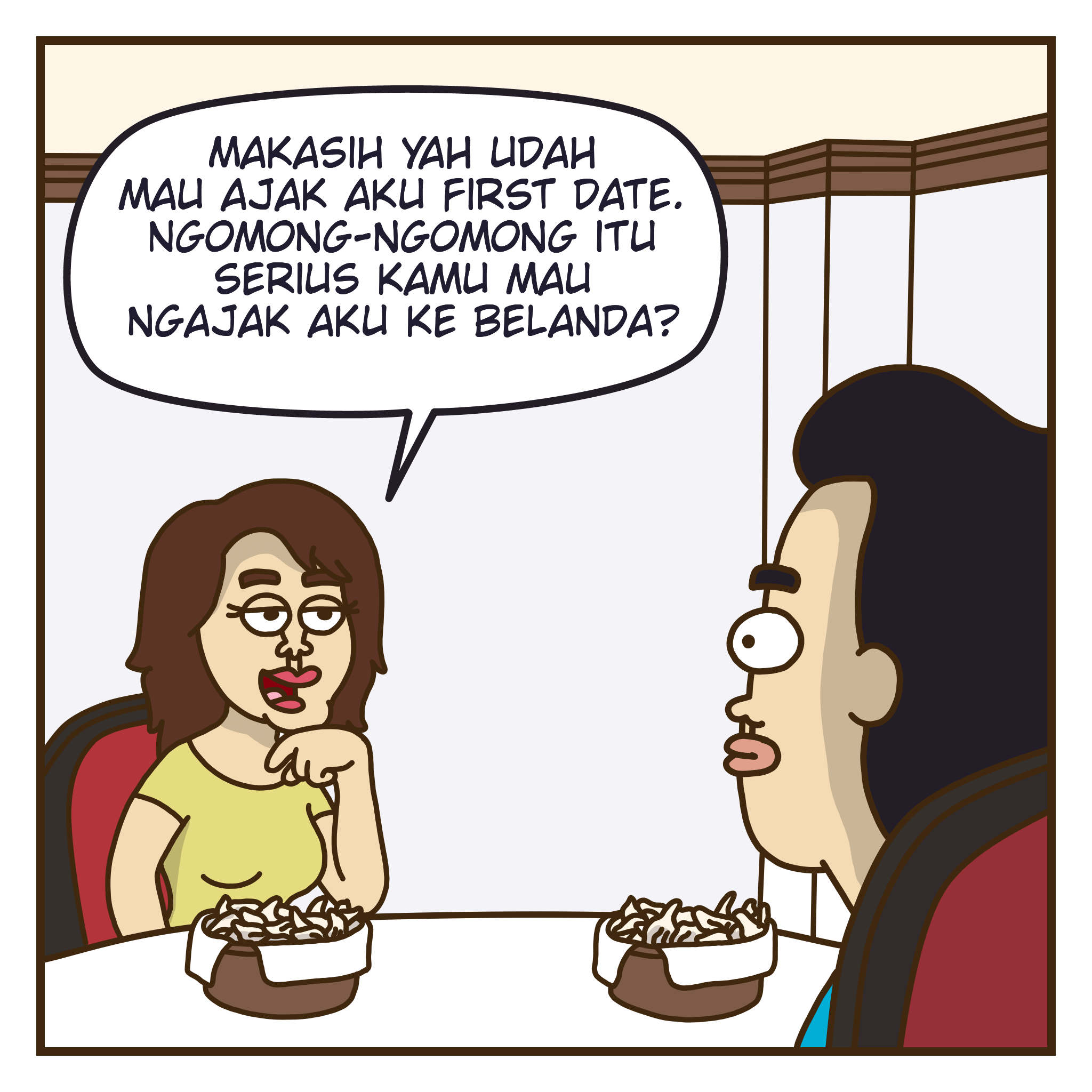 First Date Feat GoPay Indonesia 1