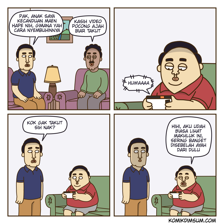 Kecanduan Hape