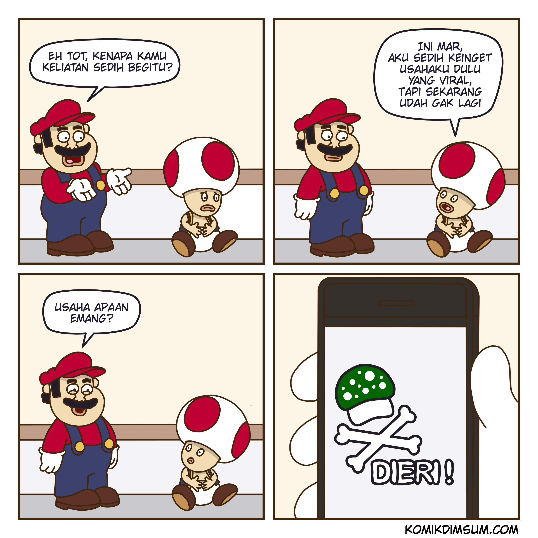 Mario Dan Toad