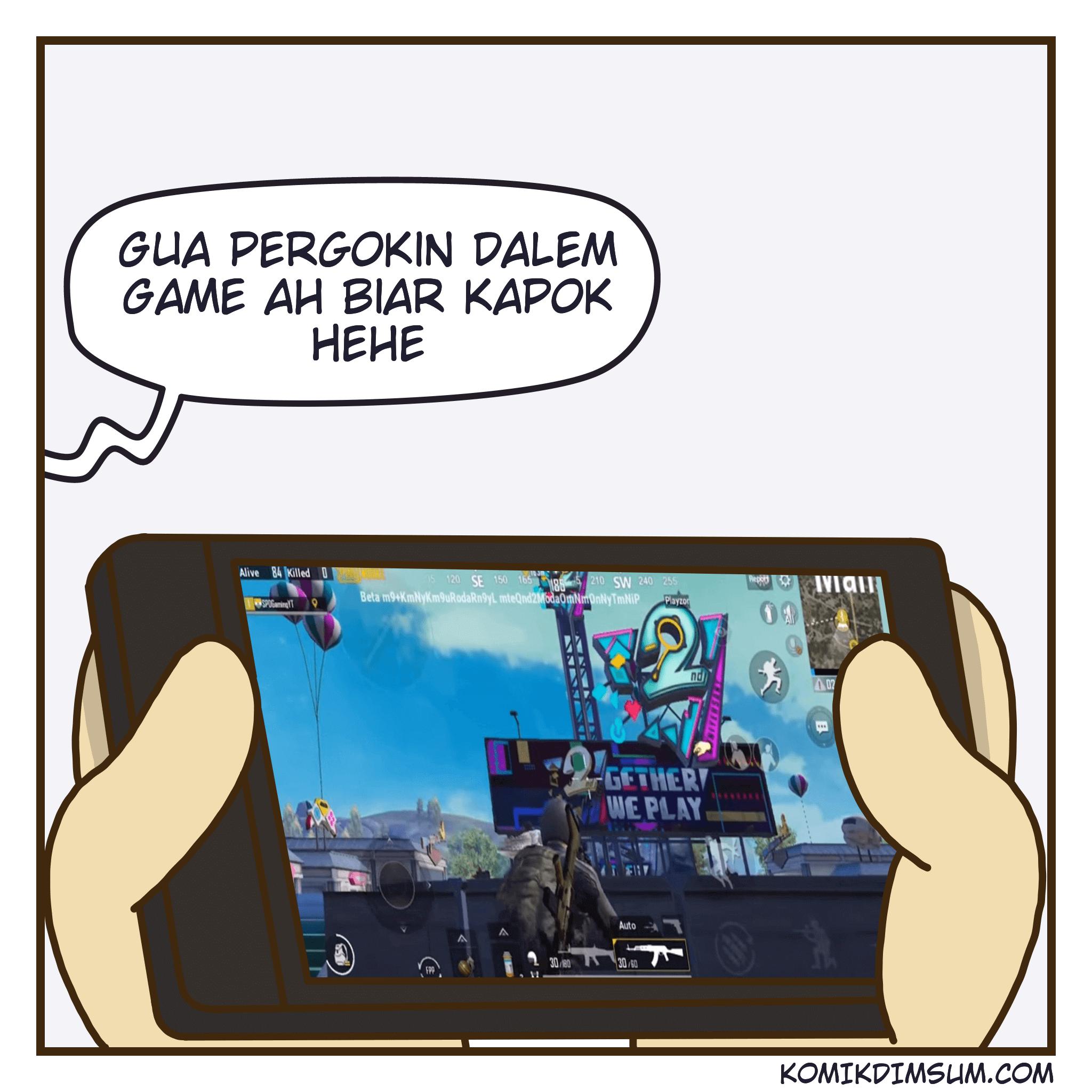 Royale Pass Season 12 – Komik Dimsum x PUBG Mobile