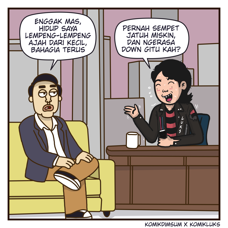 Talk Shaw Bersama Komik Luks 1