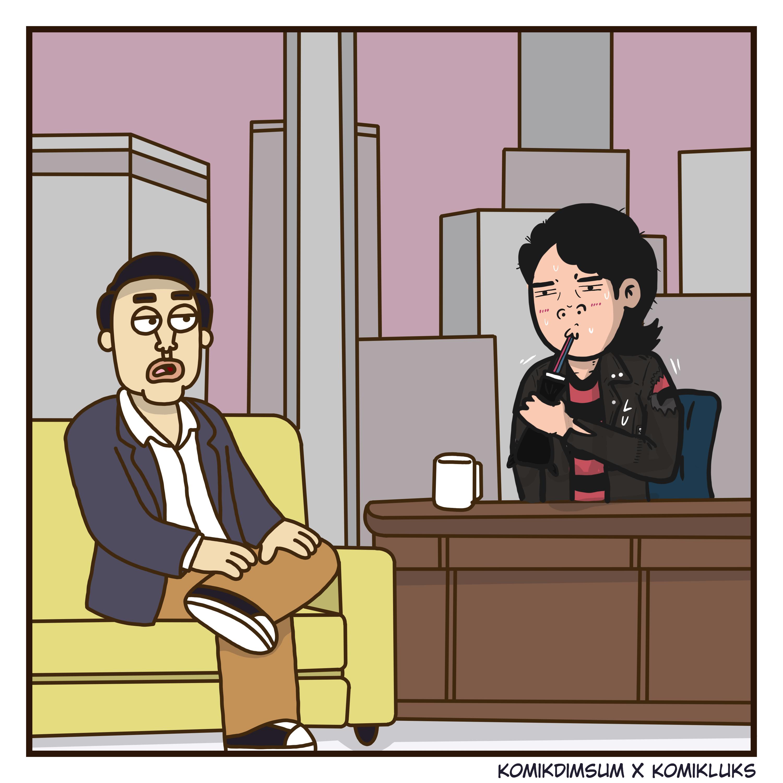 Talk Show Bersama Komik Luks