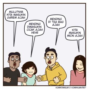 Teman Iseng Feat Komik Kamvret 2