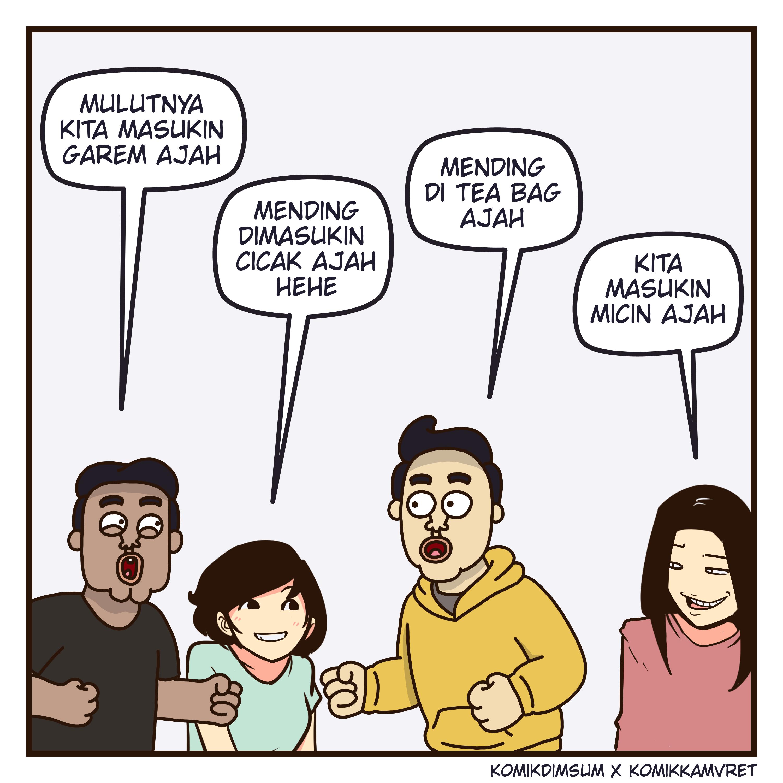 Teman Iseng Feat Komik Kamvret