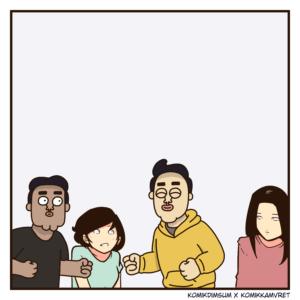 Teman Iseng Feat Komik Kamvret 3