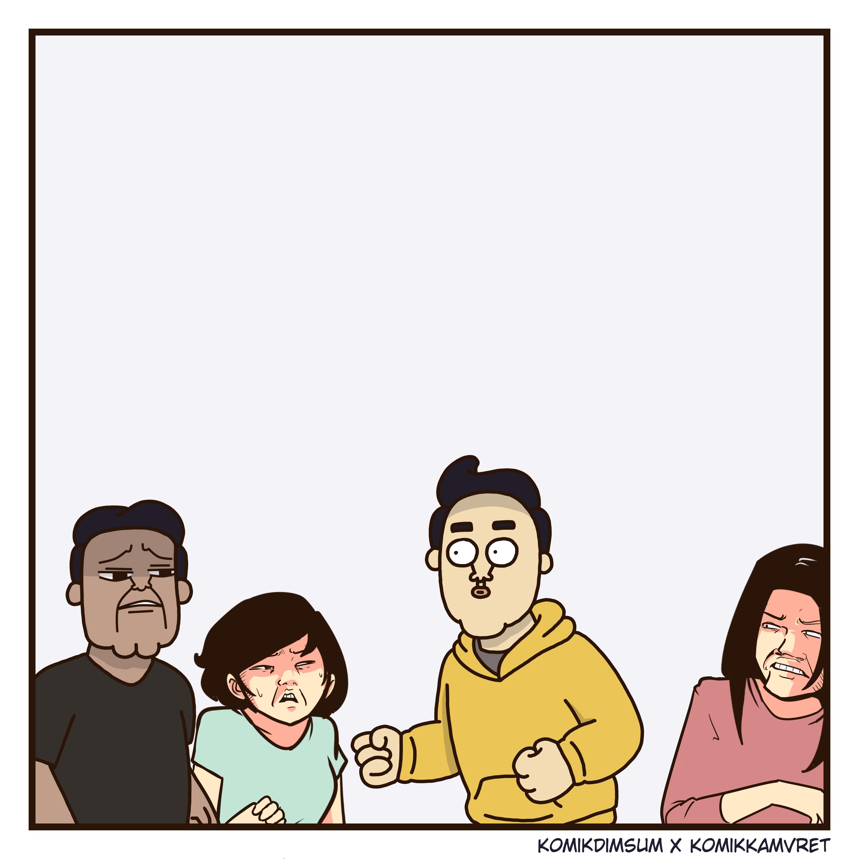 Teman Iseng Feat Komik Kamvret 4