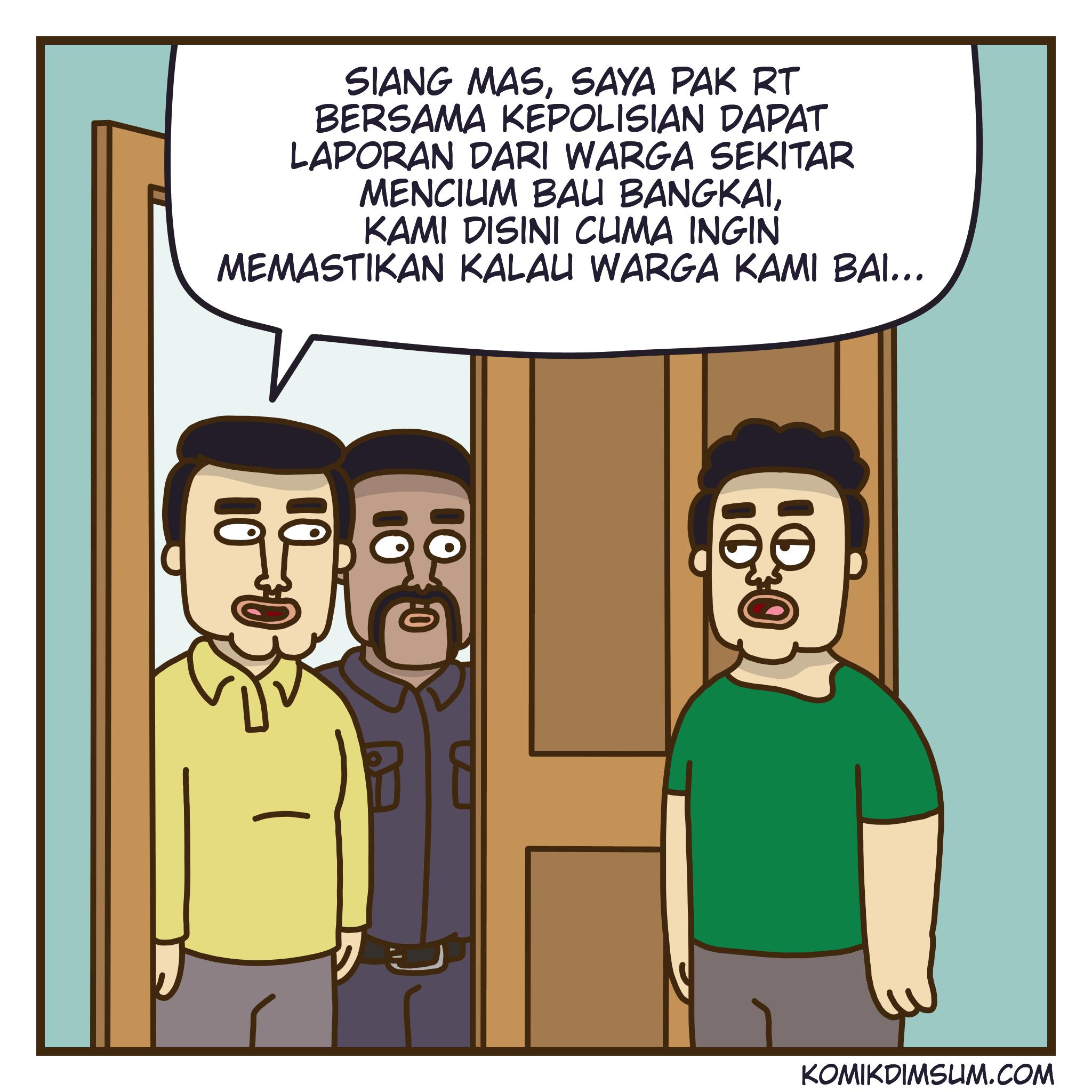 Bau Bangkai feat Enkasari