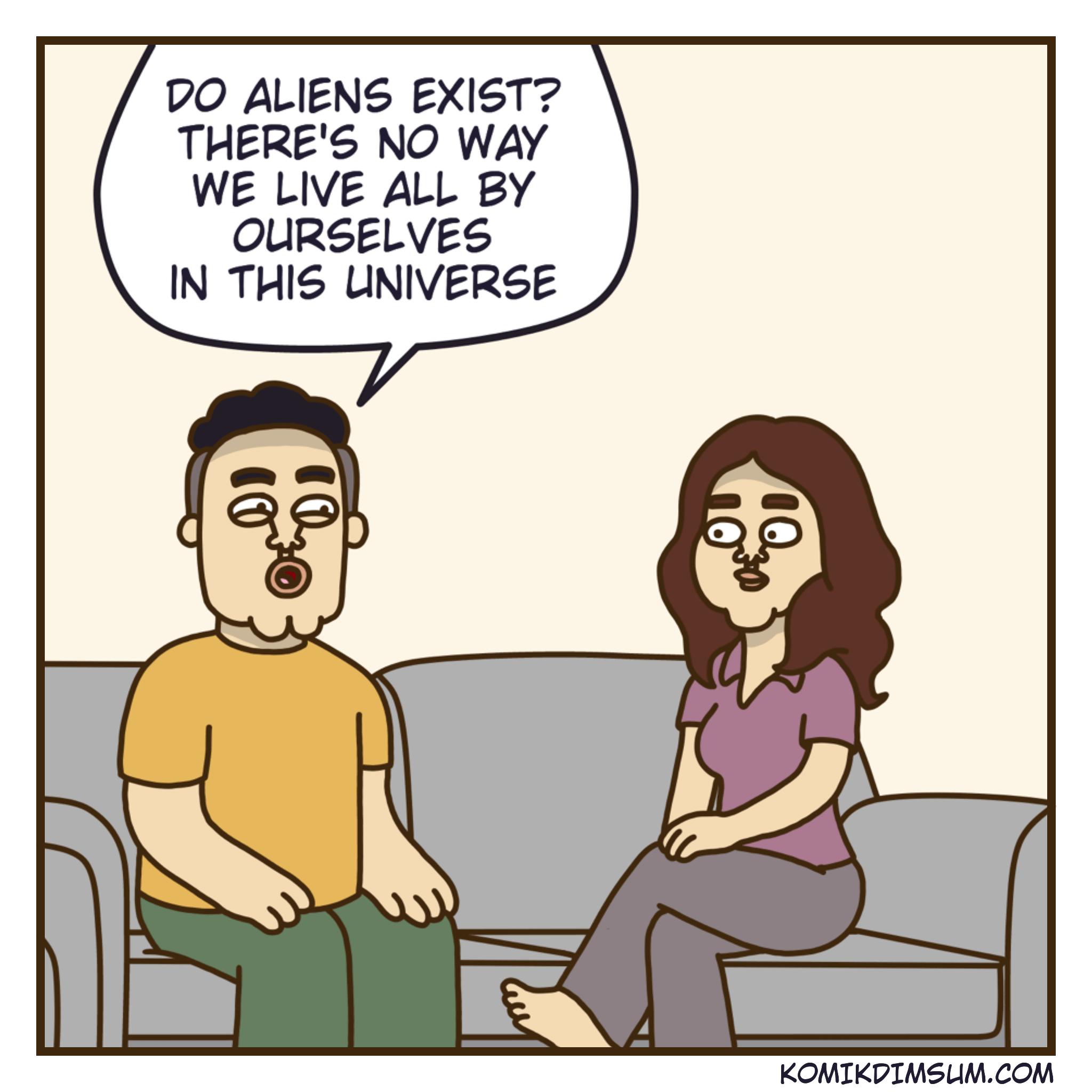 Do Aliens Exist 1