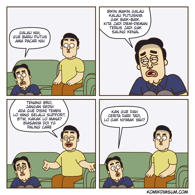 Galau Putus
