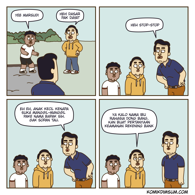 Manggil Nama Bapak