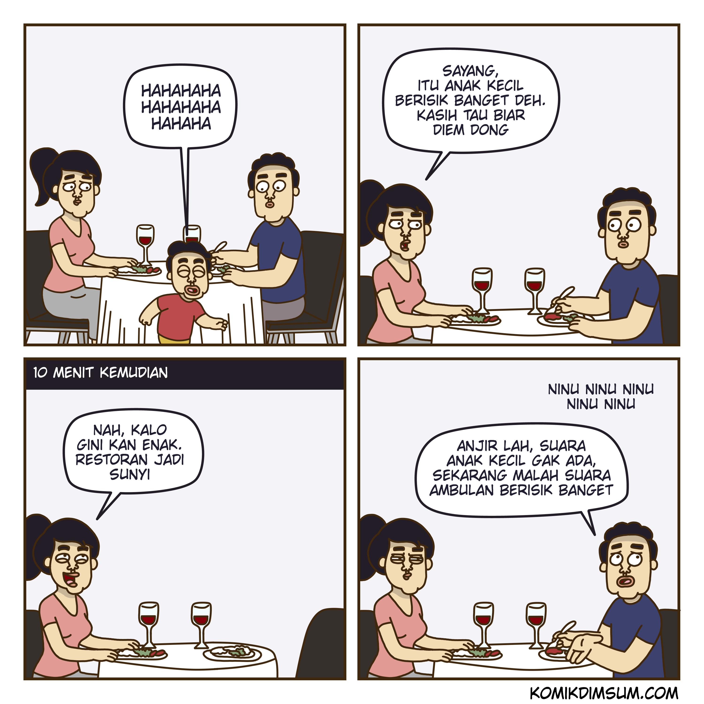 Komik Dimsum - Beras Plastik