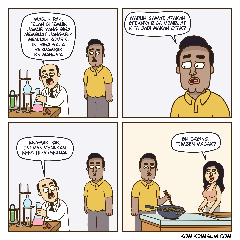 Jamur Zombie