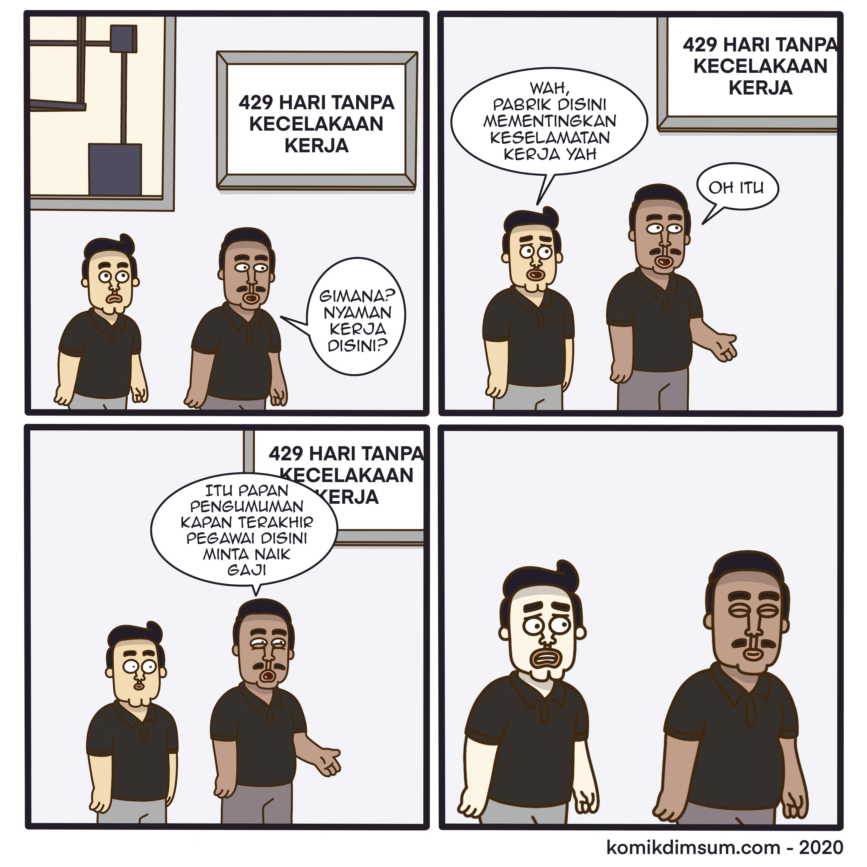 Karyawan Baru Pabrik
