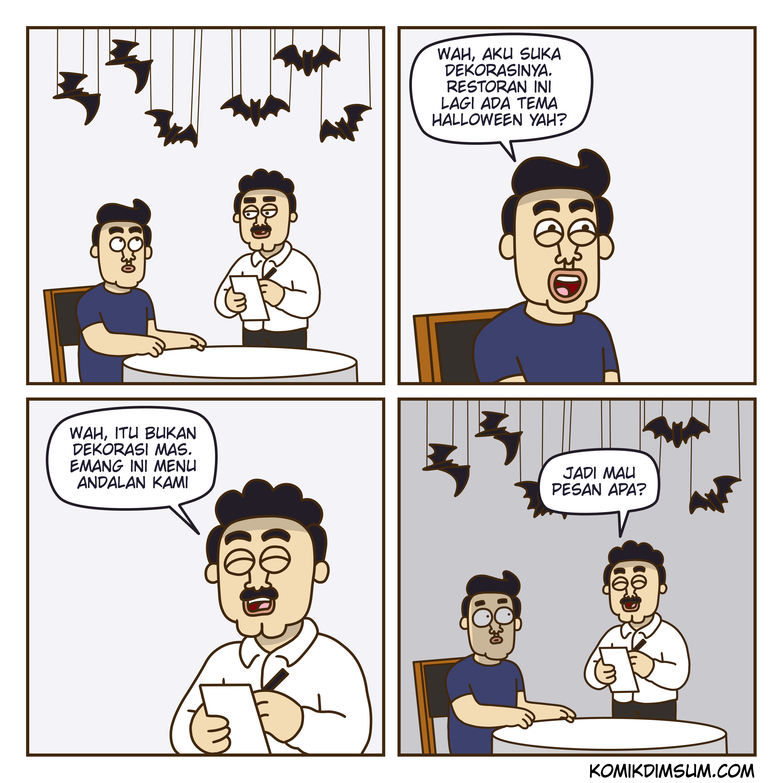 Restoran Halloween