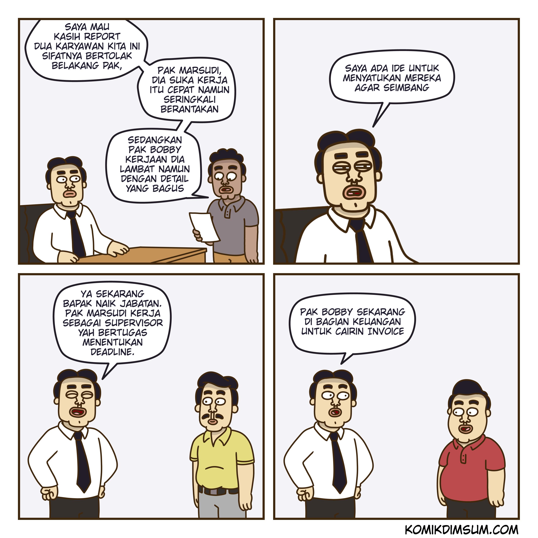 Pak Cepat dan Pak Lambat