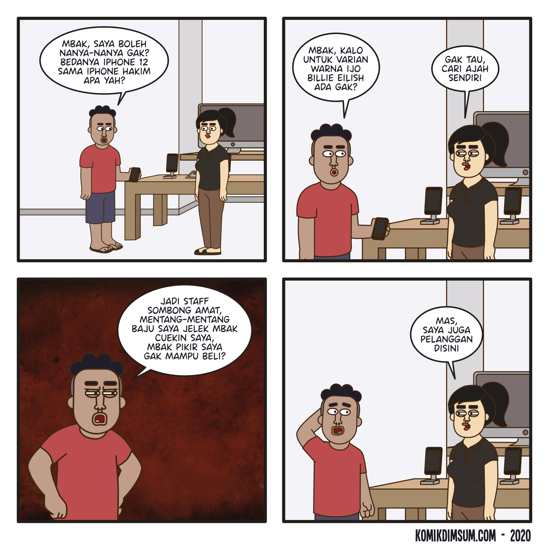 Staff Sombong